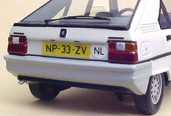 Citroën BX - Jetcar de Norev Citroenbxpaul-achter