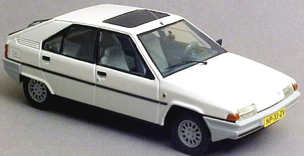 Citroën BX - Jetcar de Norev Citroenbxpaul
